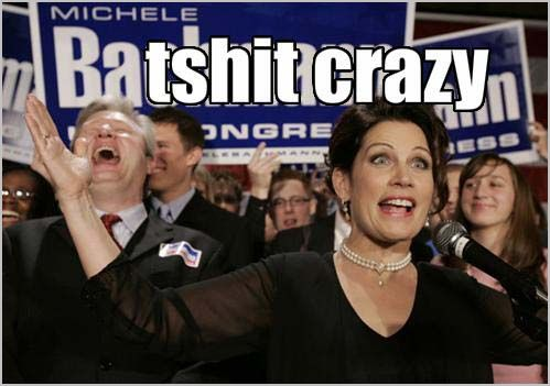 michele bachmann quo. A: Michele Bachmann supporters